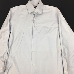 Hugo boss Men's shirt Sz 17 34/35